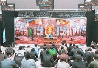 نشست بصیرتی در مدرسه علمیه امیرالمومنین(ع)رشت برگزار شد+تصاویر