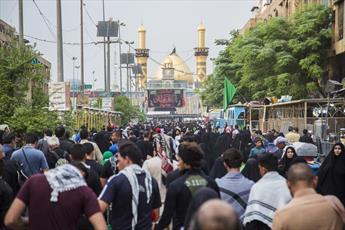 اولین گروه زائرین اربعین حسینی به کربلا رسیدند + تصاویر