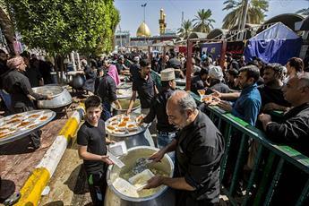 ۱۰ هزار موکب عراقی و خارجی در کربلا به زائران اربعین خدمت میکنند
