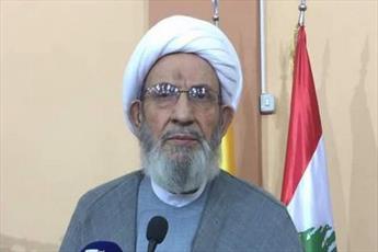 اعتراض رئیس شورای شرعی حزب الله به تاخیر در تشکیل دولت لبنان