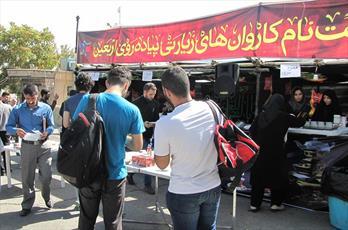 پذیرایی روزانه از ۲ تا ۳ هزار زائر امام حسین (ع)