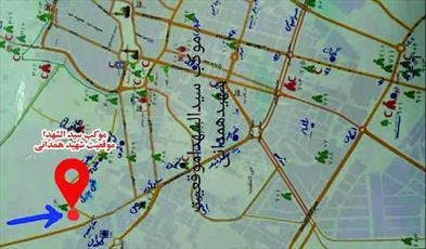 توزیع ۲۵۰۰ پرس غذا بین زائران اربعین در موکب حضرت سیدالشهدا موقعیت سردار همدانی