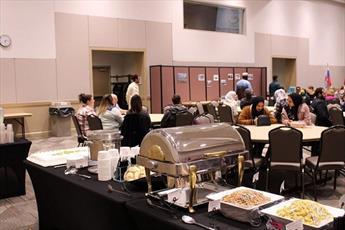 انجمن اسلامی دانشگاه آمریکایی شام میان ادیانی برگزار کرد