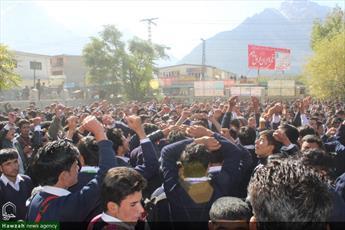تصاویر/ مراسم یوم الحسین در دانشکده سکردو