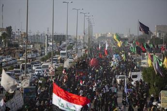 شهدای مدافع حرم؛ موکب داران عزت و شرف در پیاده روی اربعین