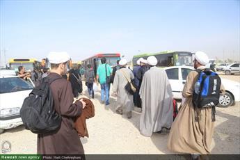 تصاویر/ زائران اباعبدالله الحسین(ع) در مرز مهران