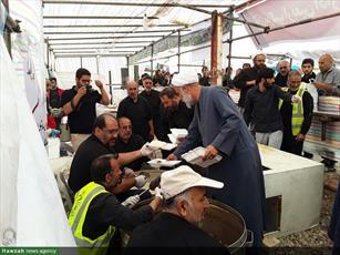 گزارشی از فعالیتهای موکب شهید همدانی استان تهران در مرز شلمچه