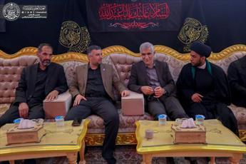 همکاری شهرداری تهران و آستان مقدس علوی برای خدمت به زائران اربعین+تصاویر