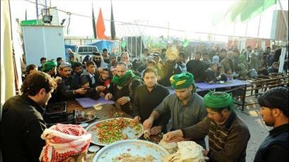 تکریم از موکبداران عراقی توسط رایزنی فرهنگی ایران