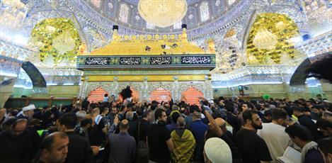 حضور میلیونی زائران اربعین در حرم امامین عسکریین (علیهما السلام)+تصاویر