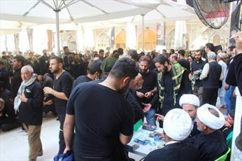 افزایش ایستگاه های تبلیغی در مسیر زائران اربعین حسینی+ تصاویر
