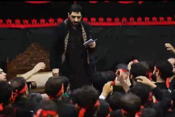 صوت| مداحی سید مجید بنیفاطمه شب نهم محرم98