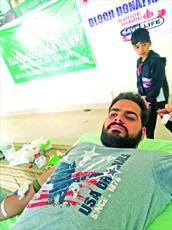 شیعیان در جامو و کشمیر کمپین «اهدای خون» برگزار کردند