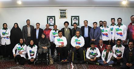 ورزشکاران سفیران خوبی برای جمهوری اسلامی  هستند