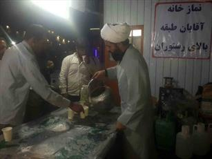 موکب  شهرستان رزن آماده پذیرایی از زائران سیدالشهدا (ع)
