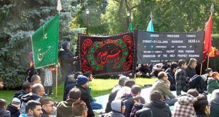 شیعیان بویسی آمریکا پنجمین «راهپیمایی اربعین» را برگزار کردند