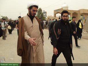 تصاویر/ حضور روحانیون   در پیاده روی اربعین حسینی