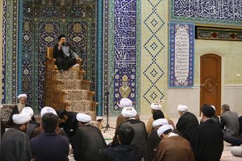 مراسم عزاداری اربعین در بنیاد علوم وحیانی اسرا برگزار شد