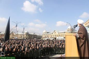 تصاویر/ پیاده روی عزاداران اربعین حسینی در همدان