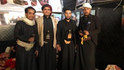 یمنی ها در برپایی مراسم زیارت اربعین حضور یافتند