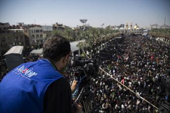 حضور ۲۴۰ رسانه عراقی و خارجی در پوشش خبری زیارت اربعین+تصاویر