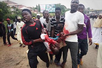 دست نشانده های رژیم تروریستی آل سعود پشت پرده جنایت نیجریه هستند