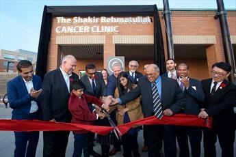 یک خیّر مسلمان در کانادا به یاد پدرش، مرکز درمانی سرطان راه اندازی کرد