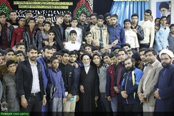 تصاویر/ دیدار  طلاب و دانش آموزان شهرستان سربیشه با نماینده ولی فقیه در خراسان جنوبی