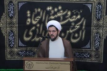 امام جمعه هامبورگ: پیامبر اسلام عین الفاظ وحی را به مردم منتقل کردند