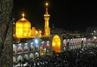 فیلم/ مداحی زیبای محمود کریمی به مناسبت شهادت امام رضا(ع)