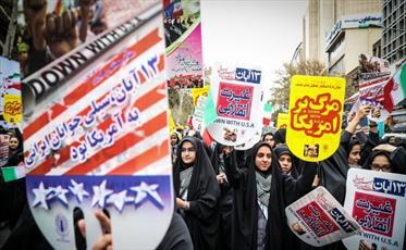 ۱۳ آبان روز تکرار حماسه و بازآفرینی غرور ملی است