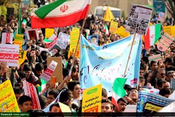 ایران اسلامی یکپارچه فریاد «مرگ بر آمریکا» شد/ دنیا نظاره گر استکبار ستیزی ملت انقلابی