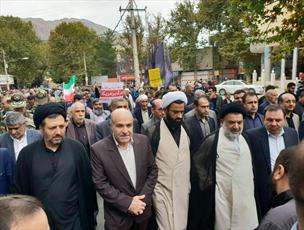 رئیس شورای حوزه علمیه استان لرستان: خروش مردم ولایی و انقلابی چشم دشمنان انقلاب را کور کرد