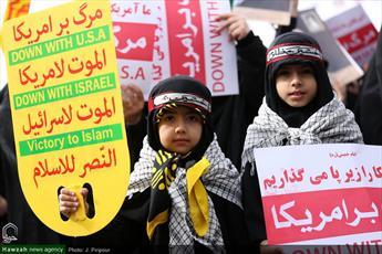 تصاویر/ راهپیمایی ضد استکباری یوم الله ۱۳ آبان در قم-۲