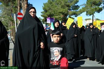 تصاویر/ راهپیمایی یوم الله ۱۳ آبان در بیرجند
