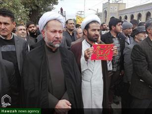 تصاویر/ راهپیمایی ۱۳ آبان در کرمانشاه