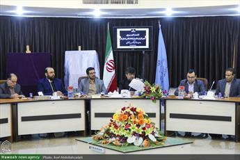 تصاویر/ نشست خبری آقای حسینی کاشانی مدیرکل فرهنگ و ارشاد اسلامی قم