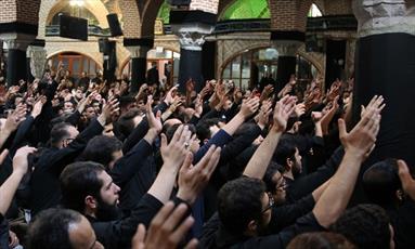 عزاداری هیئات مذهبی ترک زبان در مشهد مقدس برگزار می شود