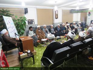 تصاویر/ دیدار مبلغان اربعین با نماینده ولی فقیه در خراسان شمالی