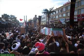 پیکر ۲ شهید مدافع حرم در قم تشییع میشود