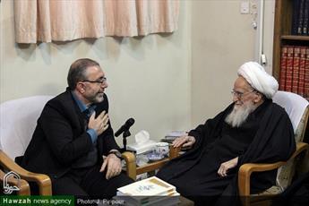 تصاویر/ دیدار رئیس ستاد مرکزی اربعین وزارت کشور با مراجع و علما