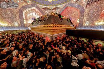 میلیون ها زائر به زیارت حرم امیرالمومنین (ع) مشرف شدند+تصاویر