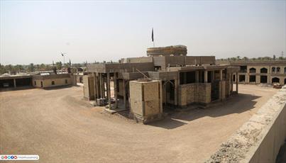 تصاویر/ مرقد محمد اصغر فرزند امام علی(ع) در شهر بابل عراق