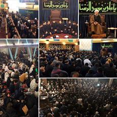 مراسم دهه آخر ماه صفر در مرکز اسلامی هامبورگ برگزار شد+تصاویر