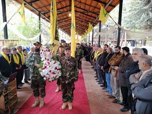 مراسم روز شهید در بعلبک لبنان برگزار شد