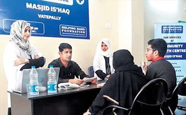 مسجدی در هندوستان مرکز درمانی رایگان راه اندازی کرد
