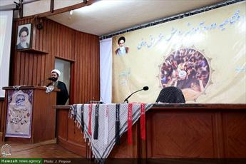 تصاویر/ افتتاحیه دوره آموزشی روش سخنرانی دینی موسسه امیربیان