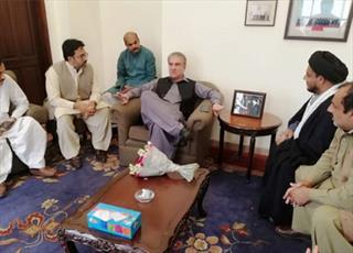 دبیر مجلس وحدت مسلمین پنجاب با وزیر خارجه پاکستان دیدار کرد