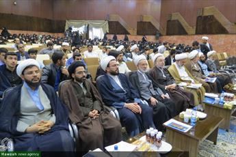 تصاویر/ همایش ملی روش پژوهشی آیت الله العظمی سبحانی در کرمان