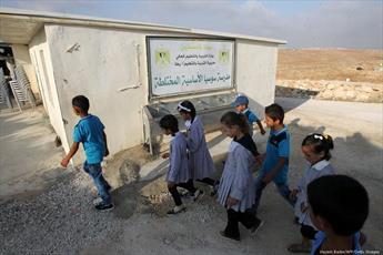 اشغالگران  اسرائیلی مانع از بازسازی مهدکودک در شهر الخلیل شدند